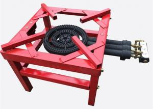 China High Fire LPG Cast Iron Gas Burner Stove , Gas 3 Ring Burner Cast Iron on sale