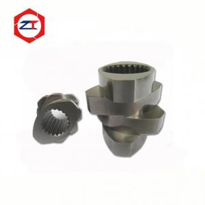 China Melting Zone Twin Screw Extruder Parts 30° 45° 60° 90° Angle Screws 71mm OD on sale