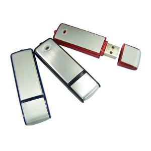 China Promotion Gifts Rectangle Plastic USB Flash Drive, OEM Logo  Aluminum and Plastic USB on sale