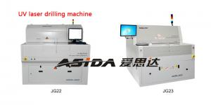 China Fully Enclosed Laser Deep Hole Drilling Machine For Printed Circuit Board on sale