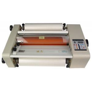 China Machine chaude de stratification de petit pain/lamineur chaud de rouleau pour le film de stratification froid-chaud on sale