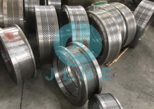 China Polished Pellet Machine Parts / Alloy Steel Pellet Press Parts Feed Pellet Making on sale