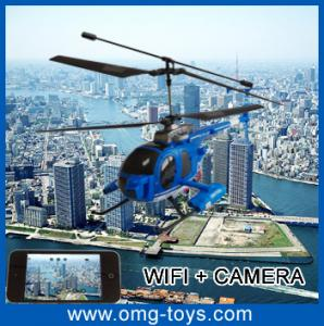 China Remote Control  G-sensor Function Wifi Controlled RC Car / Helicopter With Andriod System on sale