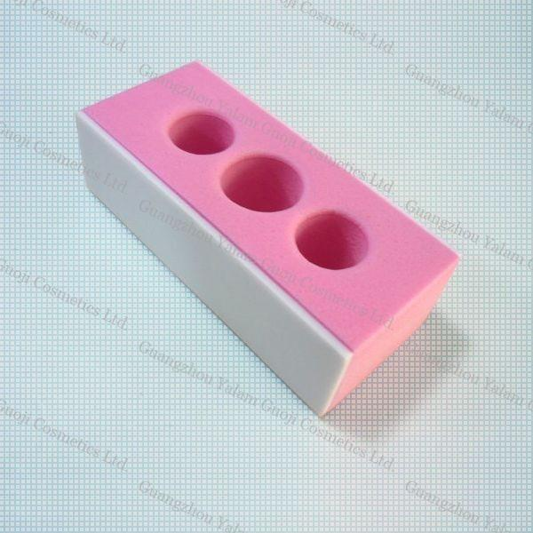 OPI Pink Three Holes Polishing Nail Block Sanding Block File Nail ...