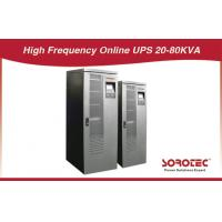 Three Phase 380V AC 20, 40, 80 KVA High Frequency online UPS with RS232, AS400, RS485
