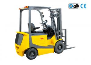 China 2 Ton electric forklift truck , 48V AC / DC heavy duty warehouse equippments on sale
