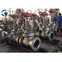 High Pressure Flexible Wedge Flanged Gate Valve Cast Steel For WOG