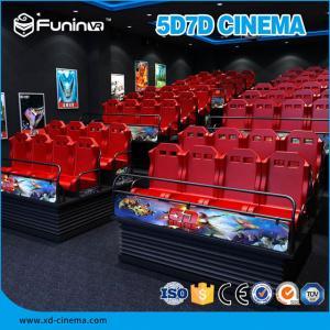 China 6 Setas 7D Simulator Cinema 70 PCS 5D Movies Amusement Park Gun Shooting on sale