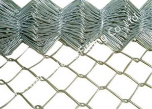 China Colorful Chain Link Wire Mesh Pvc Coated Wire Fencing For Protecting 1 - 4m Height on sale