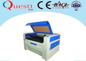 China Cnc Glass Engraving Machine For Paperboard , 100 Watt Laser Engraving Equipment on sale