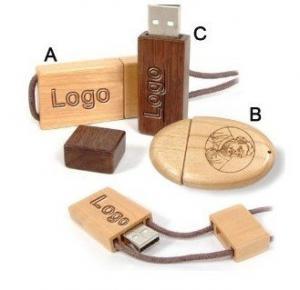 China Free Logo Fast OEM Brand Wooden USB Flash Drive / USB 8GB Flash Drive on sale