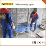 Ready Mix Render Diy Rendering Tools Villa Machine Plastering Automatic
