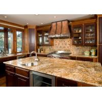 China Italian Grey Color Natural Granite Countertops Polished Honed Surface on sale