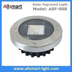 China Solar Ground Lights Warm Solar Inground Spotlights White Solar Underground Pathway Lights Outdoor Solar Landscape Light on sale