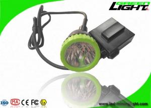 China 3.7W High Power LED Coal Mining Lights 50000lux 13hrs Lighting Time Head Lamps on sale