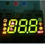 Fridge Control Custom LED Display , 7 Segment Led Display 3 Digit Super Bright