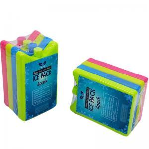 20 PACK Of REUSABLE FREEZER ICE PACKS BLOCKS COOLER BOX ICE BAG