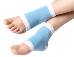 China Women Leg Sleeve/Gel Heel Brace Cracked Foot Covers Care Gel Spa Socks on sale