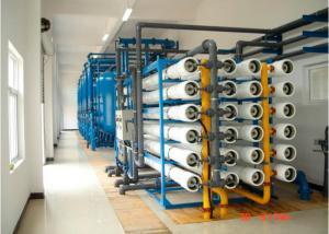 China Super duplex high pressure pump sea waterro plant for seawater purification 550000 GPD on sale