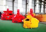 1 - 3 Unloading Doors Planetary Cement Mixer High Chrome Alloy PMC500 Precast Ceramic