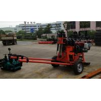 200m Spindle Type Deep Hydraulic Geotechnical Drill Rig Portable