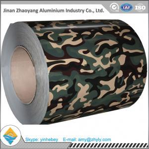 China AA3005 1.0m m laminó la bobina de aluminio cubierta color de RAL para la decoración on sale