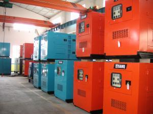China Soundproof Cummins Diesel Generator , 22KW / 28KVA , 4B3.9-G1 on sale