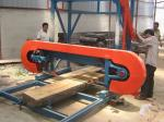 ¡venta de la fábrica!!! el corte de madera horizontal utilizó la serrería portátil de la banda para las ventas