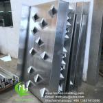 3D Facade Aluminum Solid Panel for Wall Cladding and facade waterproof