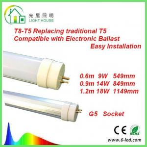 China T8 - T5 LED Tube Replacing Traditional G5 T5 130 LM / W EMC Passed Driver on sale