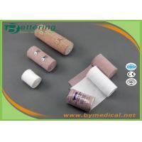 China Medical Rubber High Elastic Compressed Bandages Non sterile Surgical Elastic Bandage compression bandage on sale