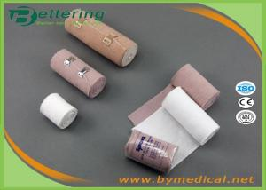 China Rubber High Elastic Medical Supplies Bandages , Compression Bandages For Wounds Non Sterile on sale