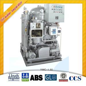 China 1.5m3/h 15ppm Bilge Separator (YWC-1.5) on sale