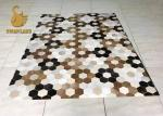 Les couvertures orientales contemporaines de bord fin, conçoivent des petits tapis en fonction du client durables