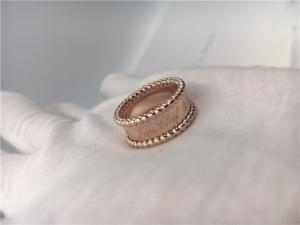 China Yellow Gold Fine Jewelry PerléE Signature Ring VCARO3Y600 Round Shape on sale