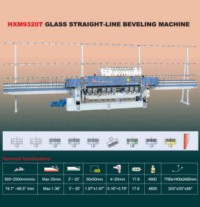 China glass beveled machine on sale