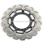China Yamaha XT600X CNC Motorcycle Parts 320mm Durable Wave Floating Disc Brake wholesale