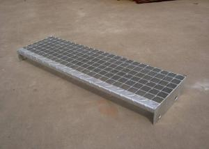 China Contracted Fashion Galvanized Steel Steps , Various Type Metal Stair Steps on sale