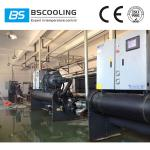 Industrial water cooled chiller system with environmental friendly refrigerant R407C