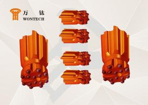 China Valveless Air Distribution Drilling Rig Tools , Rock Ballistic Button Bits on sale