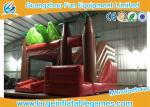 Castelo de salto inflável personalizado do tamanho com tema Bouncy do dinossauro da casa/corrediça