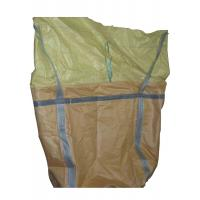 China U Panel Industrial PP FIBC Jumbo Bags customized With Cross Corner Loops on sale