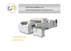 China Automatic A3/A4 copy paper roll cutting machine, Roll to sheet cross cutting machine on sale