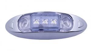 China 12v Oval Led Side Marker Light ip68 Waterproof Marine Underwater Light on sale
