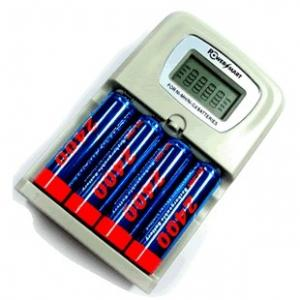China rechargeable aa/aaa battery charger with Automatically switching on sale