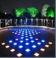 China 500X500 RGB color changing led floor tile light outdoor LED lighting on sale