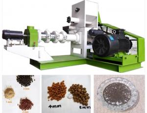 China High Nutrition Fish Feed Production Line For Small / Medium Fish Farm Holders on sale