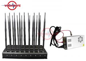 Non Stop Working 4G Cell Phone Signal Jammer , Mobile Signal
