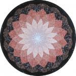 Горячая мозаика смешивания мрамора травертина