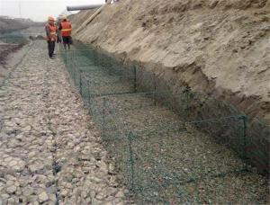China High Corrosion Resistance Gabion Reno Mattress For Strengthening Soil Structure on sale